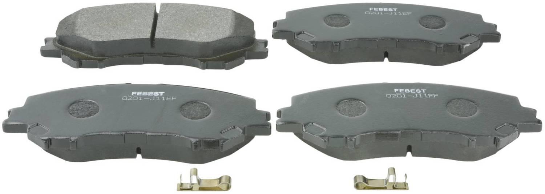 Disc Brake Front Pad Kit Kit Febest 0201-J11EF Oem D1060-4EA0A