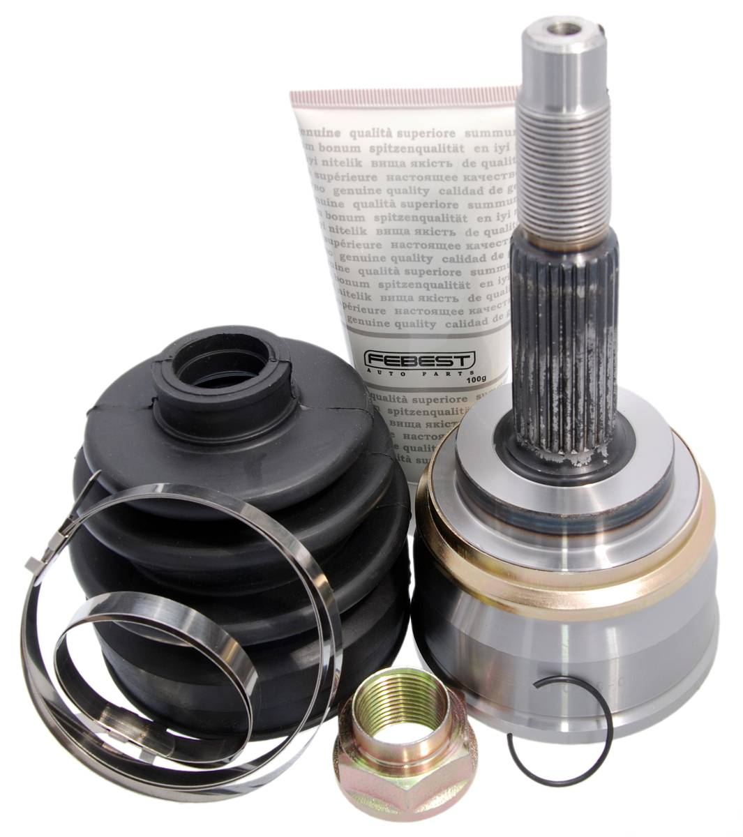 outer cv joint 23x55x25 for nissan sunny b14  almera n15 1995