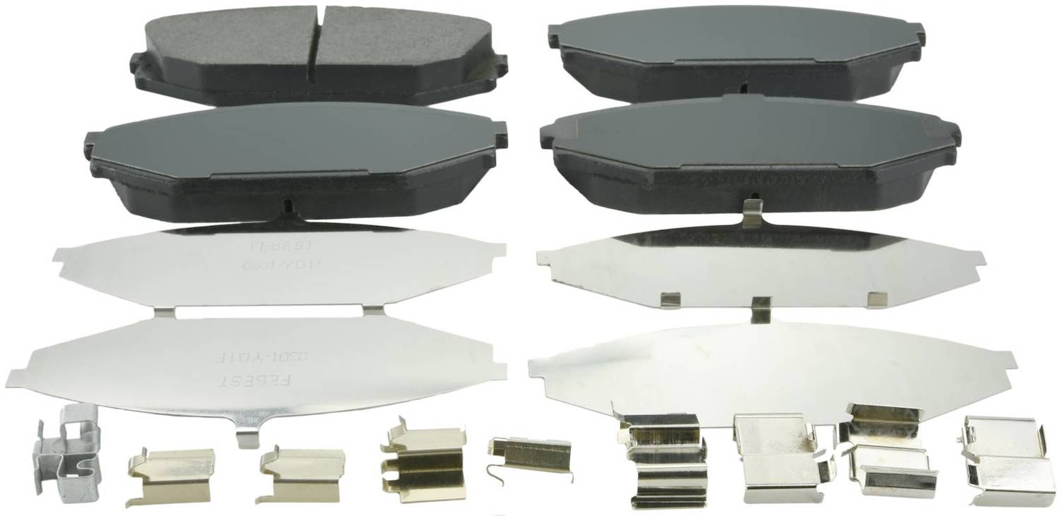 Brake Pad Kit For Acura Mdx Yd1 2001-2006