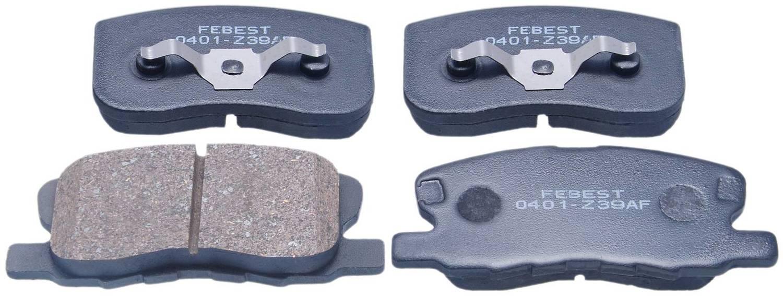 Pad Kit, Disc Brake, Front for MITSUBISHI COLT 2004-2012 MZ690188