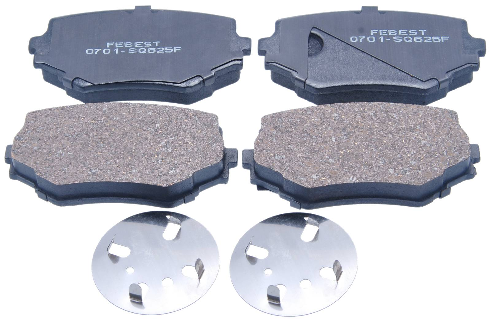 Brake Pad Kit For Suzuki Grand Vitara/Grand Escudo Xl-7 Ja627 2001-2006