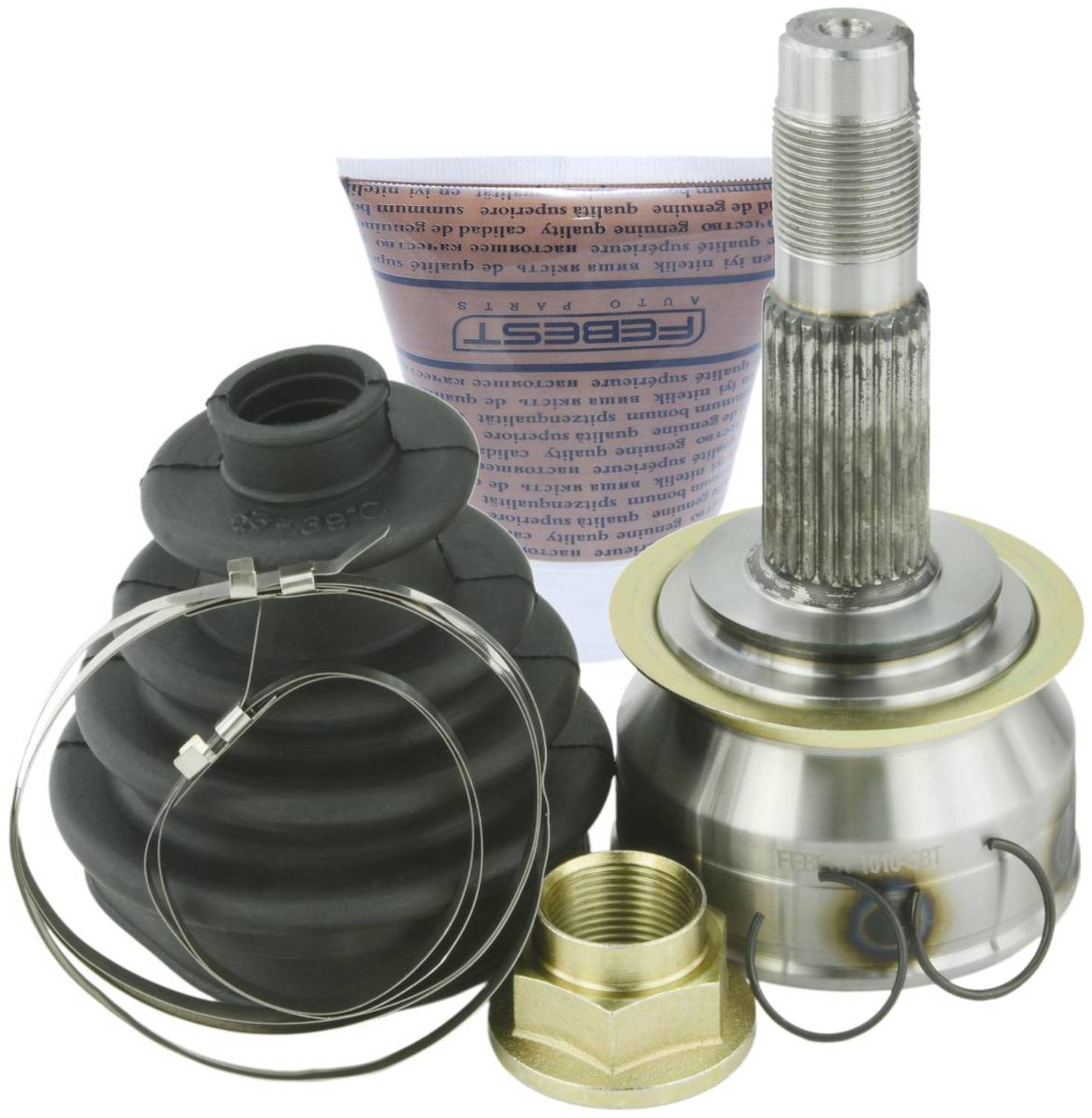 Outer Cv Joint 31X54X30 Febest 1010-J309 Oem 13392390