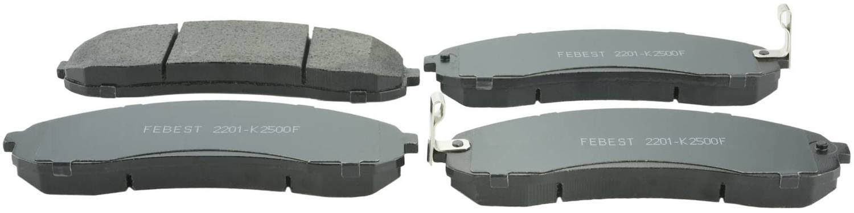 Brake Pad Kit FEBEST 2201-FQF OEM 58101-0ZA00