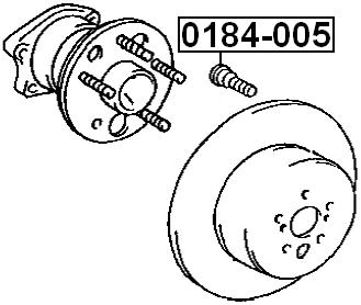 hairpin wheel febest 0184 005 4056111066462 ebay 1993 Lexus ES 300 patible vehicles lexus es300 mcv10 vcv10 1991 1996 lexus es300 mcv20 1996 2001 lexus rx300 mcu10 1998 2003 toyota avalon mcx10 1994 1999