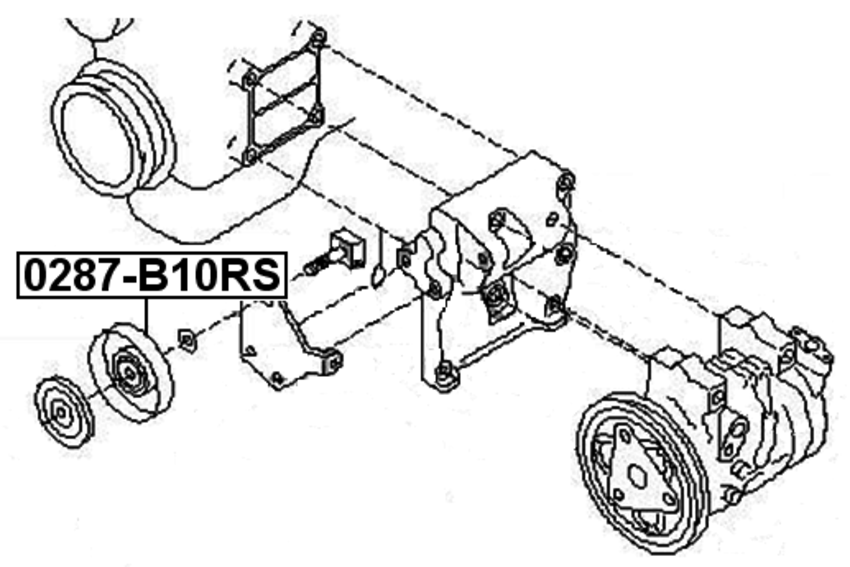 2002 nissan quest van belt diagram