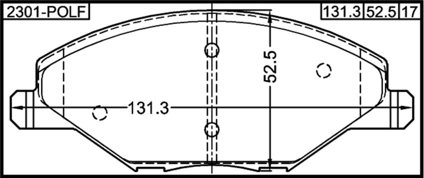 2301 honda h engine diagram pad kit  disc brake  front kit febest 2301 polf oem 6ru698151a  kit febest 2301 polf oem 6ru698151a