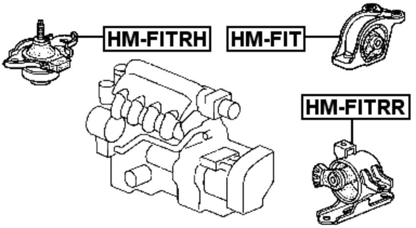 compatible vehicles : honda city 2003-2008, honda city zx 2004-2008, honda  jazz/fit gd# 2002-2008, honda mobilio gb1/gb2 2001-2008
