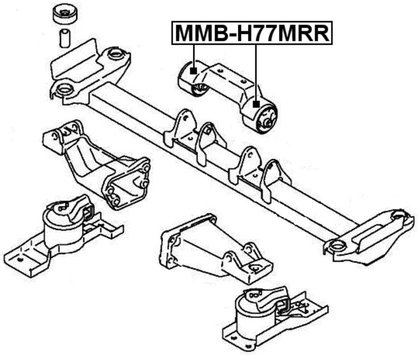 Arm Bushing For Engine Motor Mount