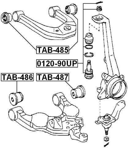 2000 Toyota Tundra Diagram